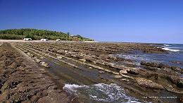 ハイビジョン 16:9 宮崎の壁紙 青島と鬼の洗濯岩