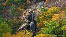 ハイビジョン 16:9 宮崎の壁紙 竜ヶ岩の滝