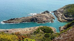 ハイビジョン 16:9 宮崎の壁紙 日向岬 クルスの海