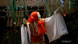 ハイビジョン 16:9 宮崎の壁紙 高千穂神楽 ウズメ